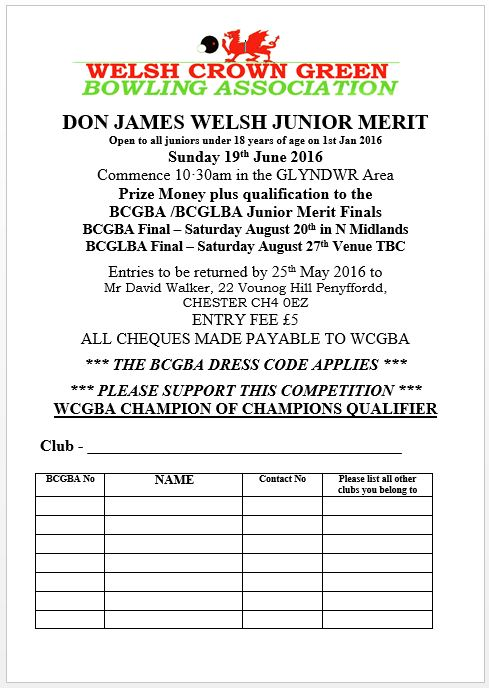 Junior Merit