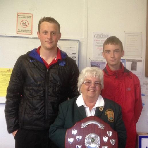 Junior Merit winners